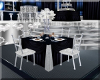 Blue Crystal Guest Table