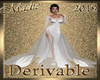 !a DRV Triple Train Gown