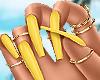 Malibu Nails + Rings