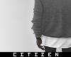 c | Large Sweater - grey