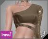 ~AK~ PVC Top: Tan