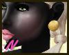 {NN] Gold Ball Earring