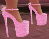 Pink Doll Shoes w Bow