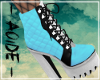 (A) Bunny Blue Boots