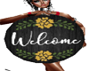 WELCOME Sign w/Pose