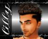 Dark brown Spike hair