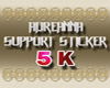 ADR# Support Sticker 5K