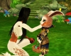 Interacting  Easter Buny