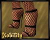 Netted Heels - Black