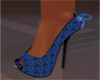 Blueberry Bow Shoes