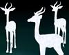 3 Pure Deers Deco