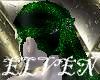 ELVEN Green Glitter Lou