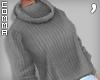 , Gray Sweater Babe