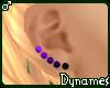 *Dy} Purpl Kandi Ears *M
