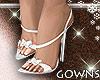 Summer Heels White