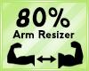 Arm Scaler 80%