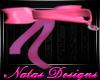 pink bow collar F