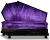 Purple Cpl Coffin Couch