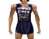 roman soldier tunic blue