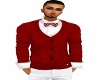 RED CARDIAN SWEATER