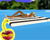 Black Stripe Dbl Floater