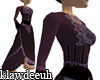 Purple Victorian Dress.