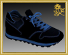 Black/Blue Runners