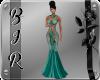 [BIR]Gown *Teal