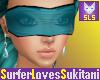 (SLS) Teal Blindfold