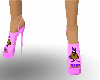 pink mrs taz platforms