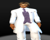 (MC) White Tux Pants