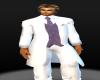 (MC) White Tux Pants