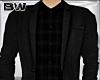 Black Plaid Suit