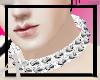 Silver spike colar :O