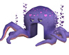 Love Octopus - Animated