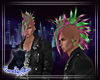 QSJ-Crazy Punk Men Hair