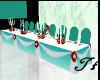 Head Table Wedding Teal