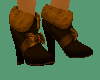 [SD] Short Boots Brown