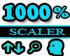 1000% Scaler Head Resize