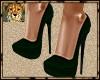 PdT Emerald Suede Heels