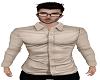 Beige cream smart shirt