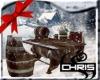 Snowy Barrel Seating