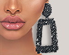 I│Glitter Blk Earrings