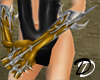 Metal Goth Demon Glove G