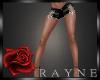 Black Jean Shorts RLL