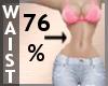 Waist Scaler 76% F A