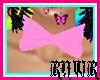 [RAWR] Pink Bow Necktie