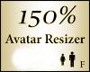 Avatar Scaler Resize 150