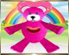 Kids Pink Bear Pacifier