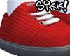Red Sikk Kicks